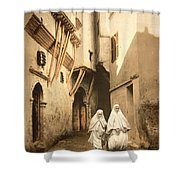 Algeria: Street Scene, C1899 Shower Curtain