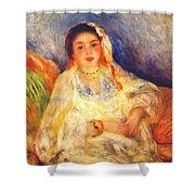Algerian Woman Seated 1882 Shower Curtain