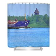 Algocanada Shower Curtain