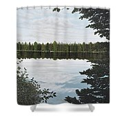 Algonquin Park Shower Curtain
