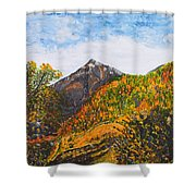 Algund View Shower Curtain