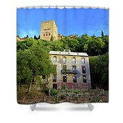 Alhambra Environs Shower Curtain