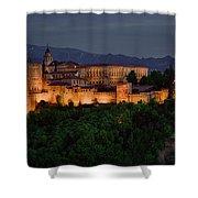 Alhambra Sunset Shower Curtain