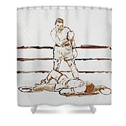 Ali Knockout Shower Curtain