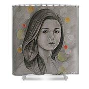 Alia Bhatt Shower Curtain