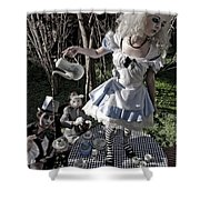 Alice And Friends 1 Shower Curtain