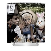Alice And Friends 2 Shower Curtain