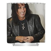Alice Cooper Happy Shower Curtain