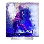 Alice Cooper On Stage Shower Curtain