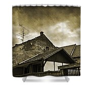 Alice Does Not Live Here Anymore Shower Curtain