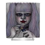 Alice In Another World Shower Curtain