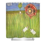 Alice In Oz Shower Curtain