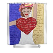 Alice Paul Shower Curtain
