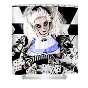 Alice1 Shower Curtain
