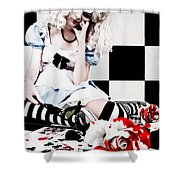 Alice2 Shower Curtain