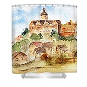 Alice's Castle Shower Curtain