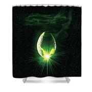 Alien 1979 Shower Curtain