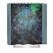 Alien Bigfoot Shower Curtain