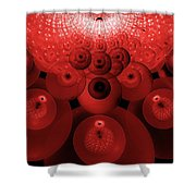 Alien Fruit Shower Curtain