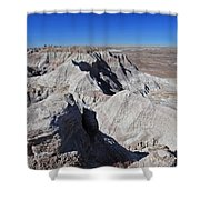 Alien Landscape Shower Curtain