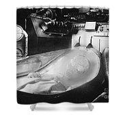 Alien Photograph Shower Curtain