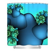 Alien Plant Shower Curtain