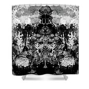 Aliena - Monochromatic Shower Curtain