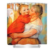 Aline And Pierre 1887 Shower Curtain