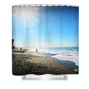 Aliso Viejo Beach Shower Curtain
