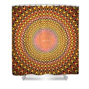Alive Painting - Da Shower Curtain