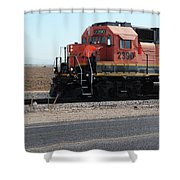 All Aboard 2390 Shower Curtain