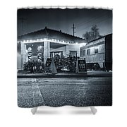All Aboard The Fog Express Shower Curtain