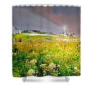 All About Peggy Shower Curtain