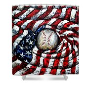 All American Shower Curtain