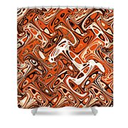 All Art Abstract #3  Shower Curtain