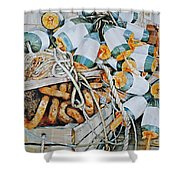 All Buoy'd Up Shower Curtain