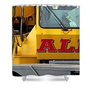 All Crane All The Time Shower Curtain