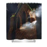 All Hallows Shower Curtain