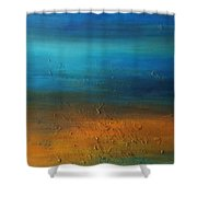 All In Good Time Shower Curtain by KR Moehr
