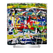 All In One  Shower Curtain
