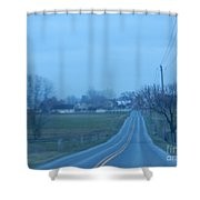 All Is Calm And Peaceful Shower Curtain