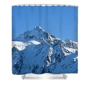 All Is White Shower Curtain