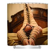All Laced Up Shower Curtain