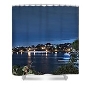 All Lit Up Shower Curtain