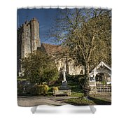 All Saints Birling Shower Curtain