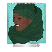 All Smiles Shower Curtain