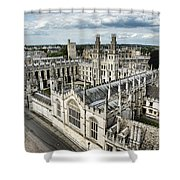 All Souls College - Oxford University Shower Curtain