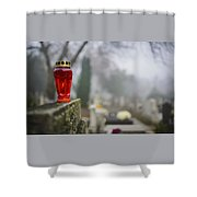 All Souls' Day Shower Curtain