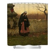 All Souls Day Shower Curtain
