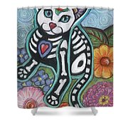 All Souls Day Jamie Shower Curtain